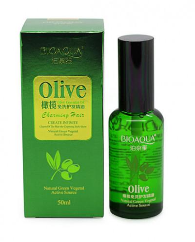 Несмываемое питательное масло для волос с экстрактом оливы