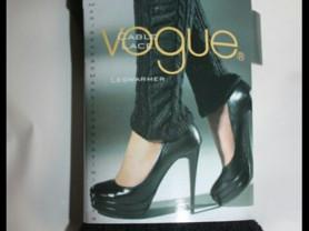 Гетры новые Vogue чёрные вязаные с кружевом размер единый оверсайз уника S M L 42 44 46 48 акрил