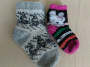 Теплые носки на 3-6л.