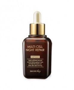 Secret Key Multi Cell Ночная восст. ампульная эссенция