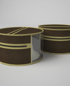 Чехол для шапок и аксессуаров, d 35, высота - 20 см