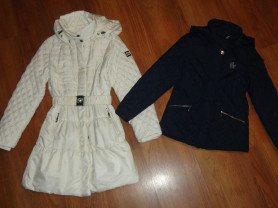 Пальто Borelli 8р. на 7-8лет. и куртка Ostin 122р.