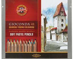Набор пастельных карандашей Koh-I-Noor Gioconda 24