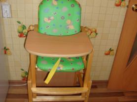 Продам деревянный стульчик-трансформер.