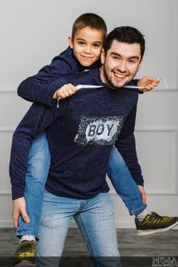 "Комплект мама+папа+дочка+сын ""BOY\GIRL"""