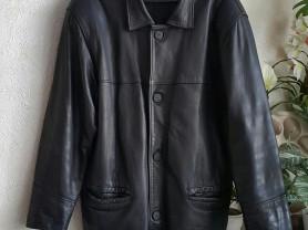 Кожаная куртка, р.50-52