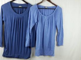 Две блузки из вискозы BikBok