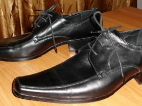 Туфли мужские новые натуральная кожа Arnegi р.44