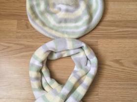 Комплект Шалуны (берет + шарф)