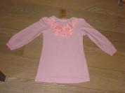 Трикотажное платье-туника на рост 104 -116