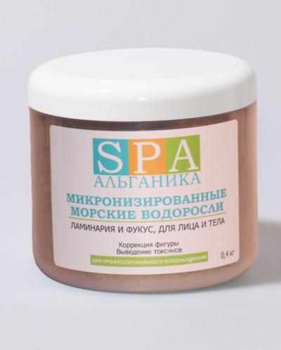 Микронизированные водоросли Ламинария и Фукус, 0,4 кг
