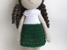 Вязаная кукла Джуди
