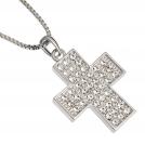 """Кулон """"Алмазный крест"""" со Swarovski"""