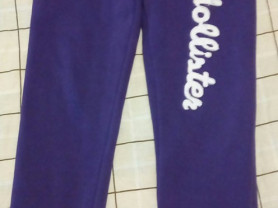 Брюки с начесом спортивные р.42 Цвет фиолетовый..
