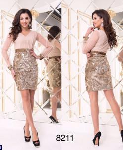 Платье 18/19#Платье № 8211