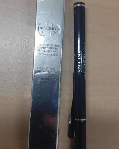 Dior diorshow art pen подводка темно синяя