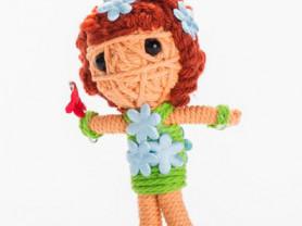 Флавер - кукла, талисман, ручная работа