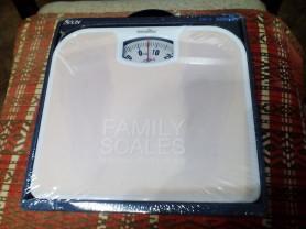 Новые напольные механические весы Smile до 130 кг