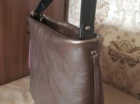 Новая стильная кожаная сумка Италия оригинал