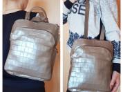 Новый кожаный рюкзак Италия оригинал