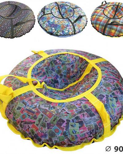 Санки-ватрушки Дизайн Лайт диаметр 0,9 м