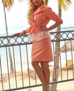 Весналетто 2268-2 костюм юбочный