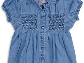 Новая  джинсовая рубашка Pumpkin Patch 5лет