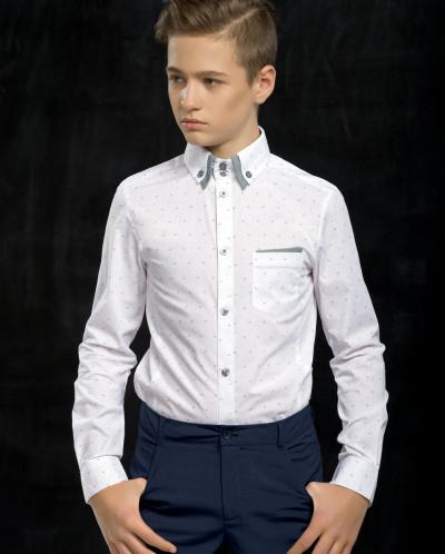 BWCJ7051 сорочка верхняя для мальчиков