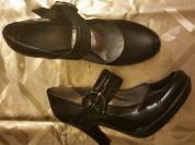 Туфли кожаные Crown Markiza