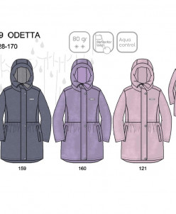 Демисезонное пальто ЛЕННЕ (коллекция весна/осень 2020)