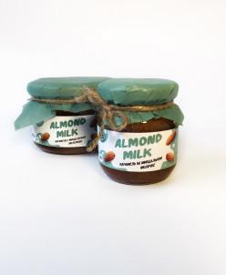 Мягкая карамель Миндальное молочко 250г Almond milk caramel