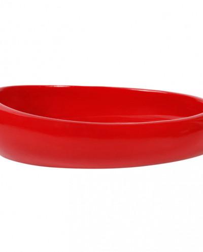 Nora (красный) Мыльница, полимер