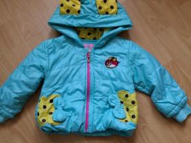 Легкая курточка на утеплителе, 86 разм,400 руб.