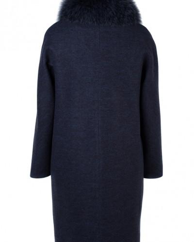 02-2445 Пальто женское утепленное