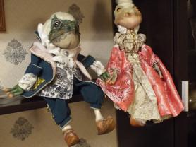 Интерьерная кукла  (жабы лягушка)