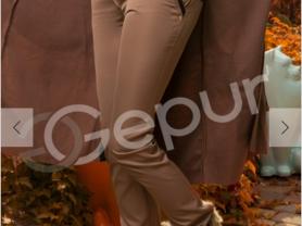 Брюки коричневые Gepur рS