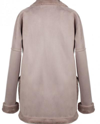 02-2421 Пальто женское утепленное