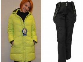 Новый теплый зимний комплект костюм WHS 42
