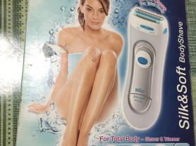 Триммер & бритва от BrAun Silk and Soft Body Shave