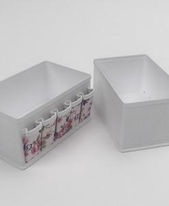 Чехол для мелочей, жесткий 25х15х12 см