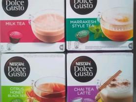 Капсулы Dolce Gusto чаи в ассортименте.