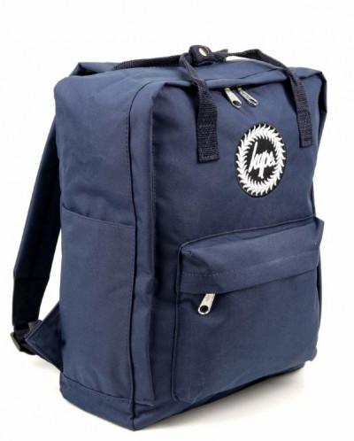 Женский текстильный рюкзак Hype ДТ 002 Прямоугольный Синий