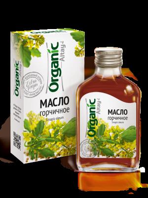 """Масло горчичное 100 мл серии """"Organic"""""""