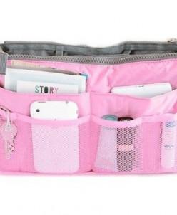 Органайзер в сумку Розовый