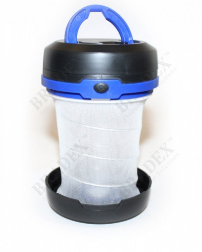 Фонарик складной синий «МАЯК» (Blue foldable lamp)