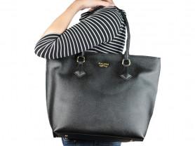 Новая кожаная сумка черная Gaude Milano