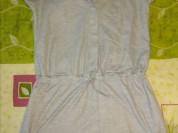 Платье -туника в стиле поло р.42
