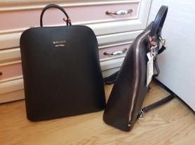 Новые элегантные кожаные рюкзаки Италия оригинал