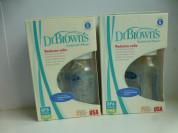 Бутылочки Dr Brown's стеклянные 100мл х 4шт, новые