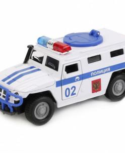 Игрушечная полицейская машинка ГАЗ Тигр